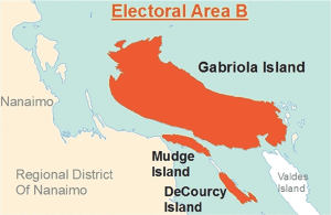 Electoral Area B of the Regional District of Nanaimo